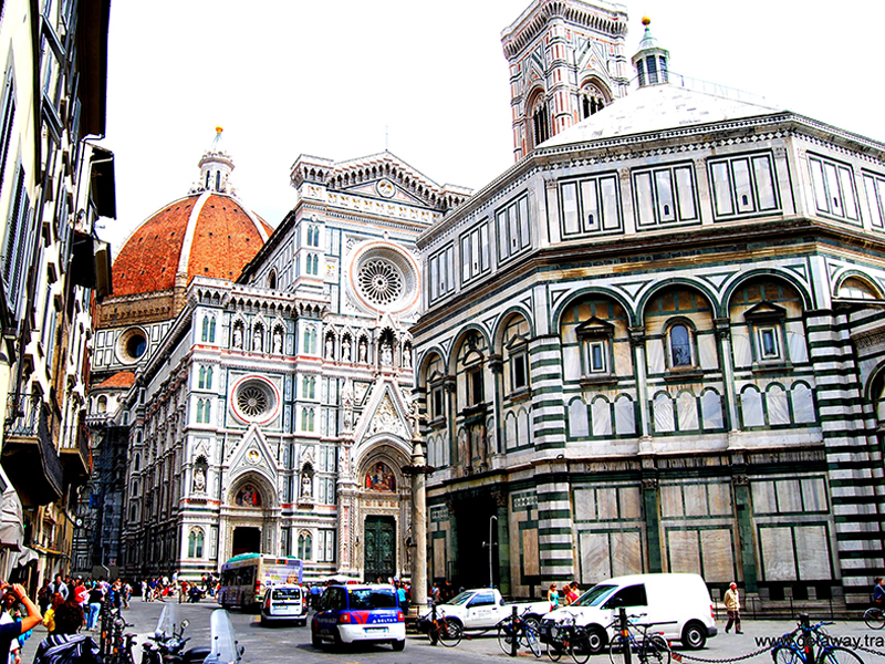 Photo taken in the center of Florence - Florence day tours