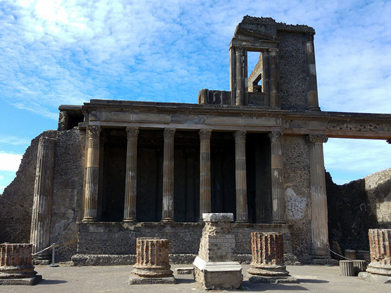 Ruins of Pompeii, particular - Pompeii Tours from Rome