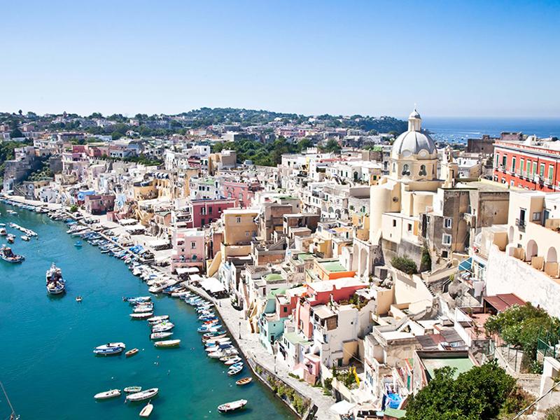 Amazing photo of Procida in Amalfi Coast - Sorrento Tours