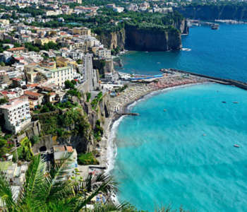 Sorrento Bay of Naples. Visit this wonderful place with our Sorrento tour