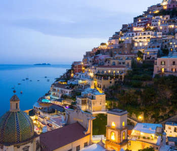 Positano, located in Amalfi Coast. Reach Amalfi from Rome with our Amalfi Coast tour