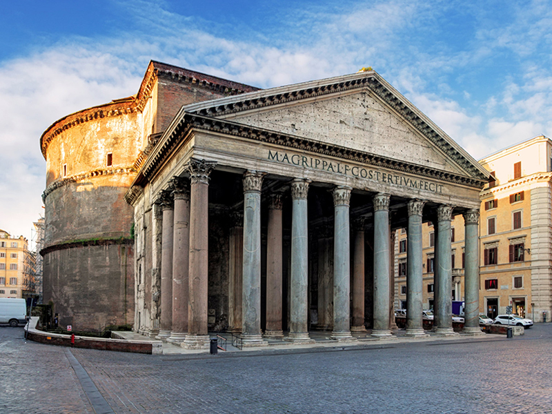 Amazing view of Pantheon in Rome - Vatican City Tours